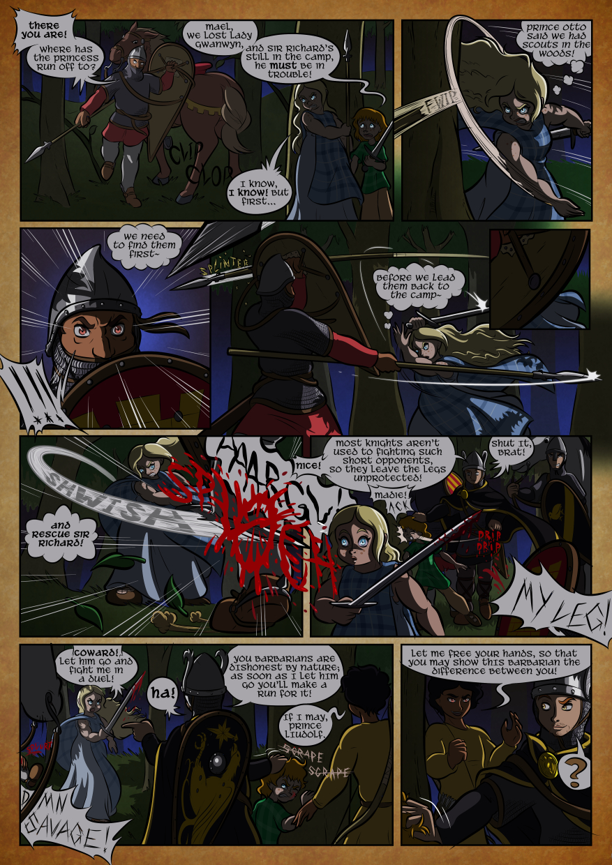 Friends and Foes 13